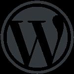 WordPress-logo-grau